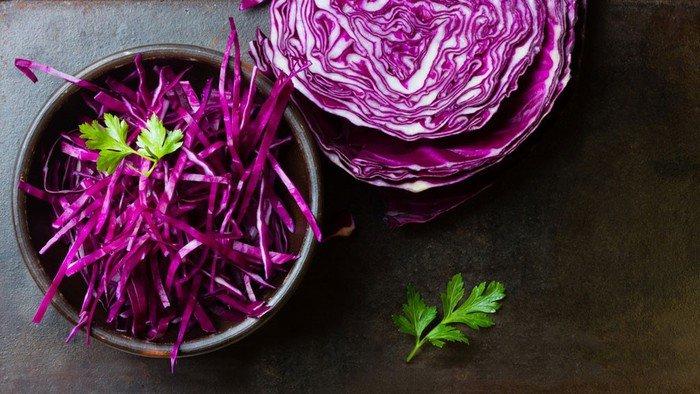 Thực phẩm màu tím chống lão hóa tốt