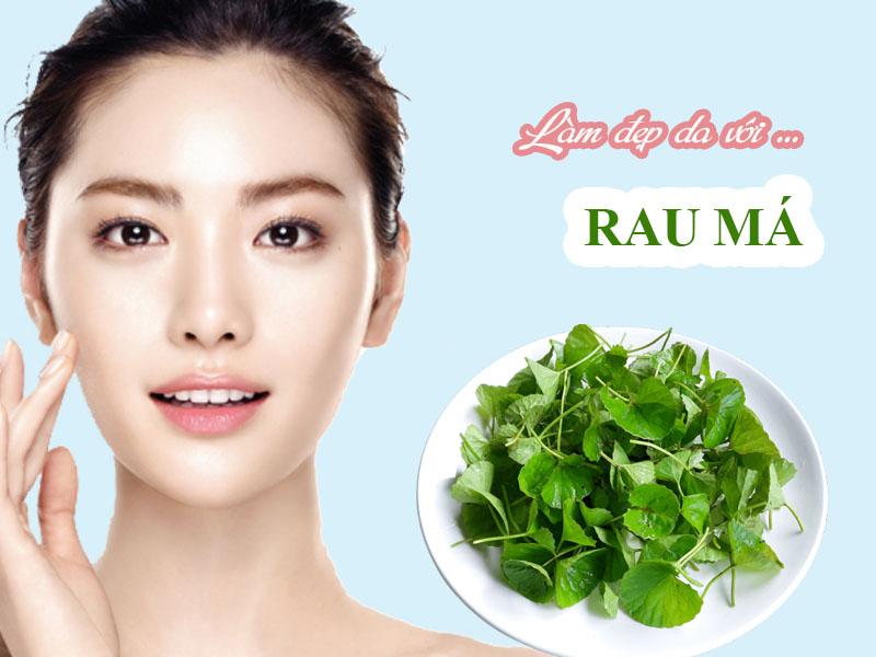 Chăm sóc da mặt bằng rau má đơn giản nhưng hiệu quả